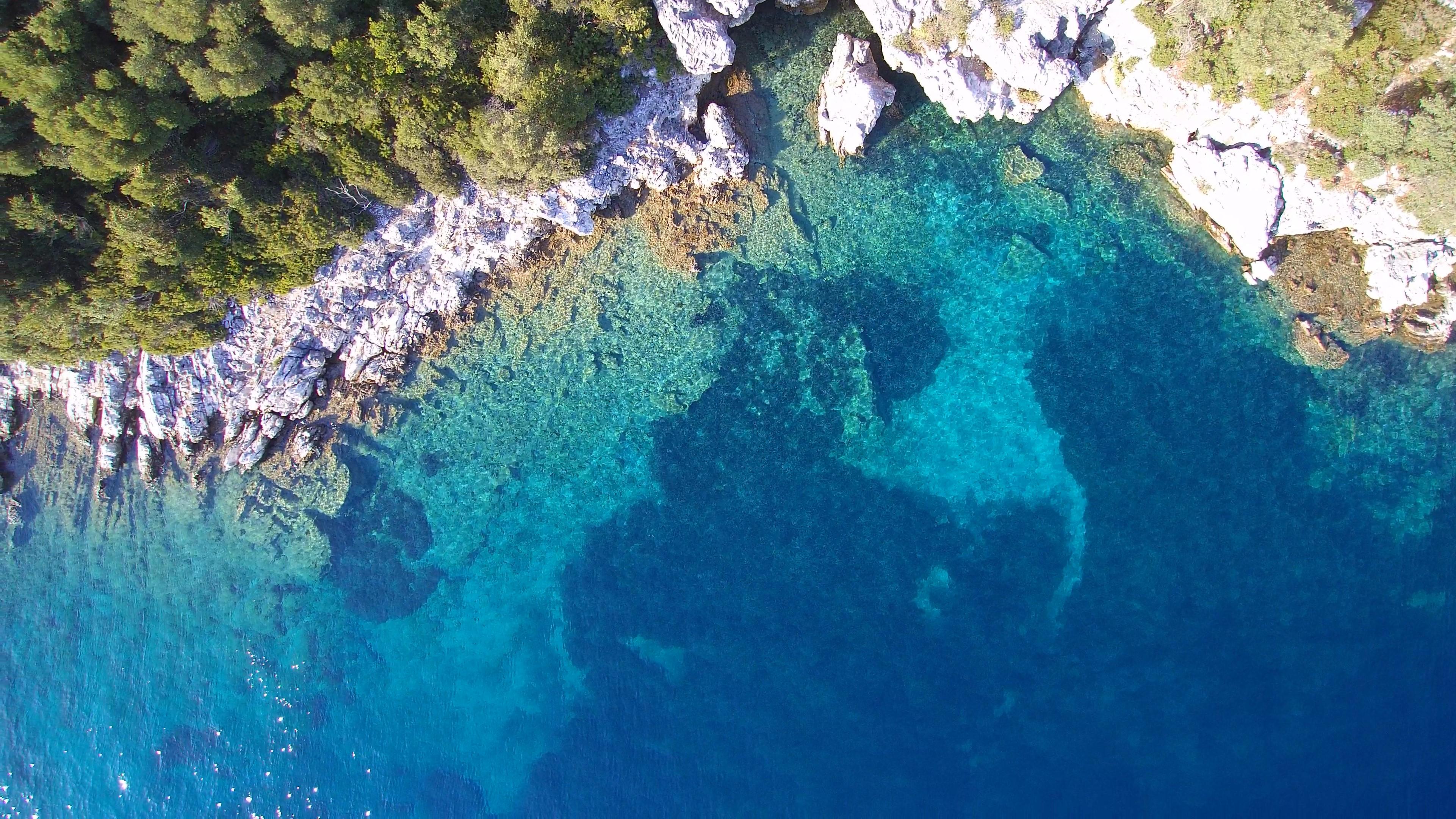Küste Paxos