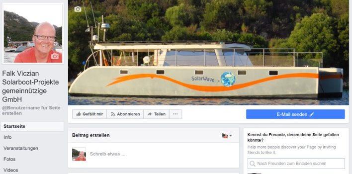 Falk Viczian Solarboot-Projekte gemeinnützige GmbH auf Facebook